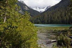 Senken Sie Joffre Lake Lizenzfreies Stockbild