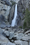 Senken Sie Yosemite Falls Lizenzfreies Stockbild
