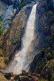 Senken Sie Yosemite Falls Stockfotografie