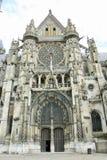 Senlis大教堂,法国 免版税库存照片
