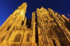 Senlis Notre Dame Cathedral fotografía de archivo