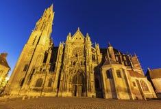 Senlis Notre Dame Cathedral foto de archivo libre de regalías