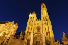 Senlis Notre Dame Cathedral Royalty Free Stock Photos