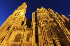 Senlis Notre Dame Cathedral Stock Photography