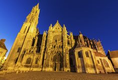 Senlis Notre Dame Cathedral Royalty Free Stock Photo