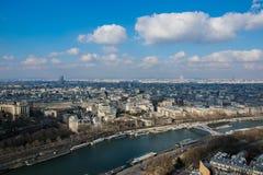 Senna του Παρισιού Στοκ εικόνες με δικαίωμα ελεύθερης χρήσης