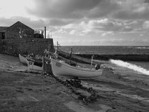 Sennen Bucht Cornwall Lizenzfreie Stockfotos