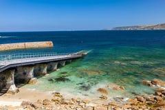 Sennen Bucht Cornwall Lizenzfreies Stockfoto