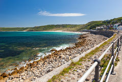Sennen Bucht Cornwall Stockbilder