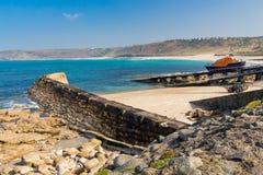 Sennen Cove Cornwall Arkivfoto