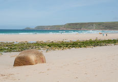 Sennen Cove seascape Royalty Free Stock Photos