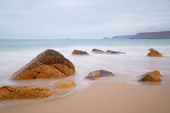 Sennen liten vik, Cornwall Royaltyfri Fotografi