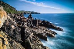 Sennen zatoczki skały Obraz Royalty Free