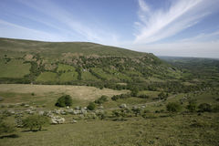Senni valley, Brecon Beacons Royalty Free Stock Photo