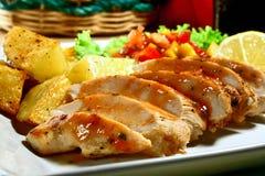 Seno di pollo Fotografia Stock