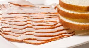 Seno e pane di Turchia Immagini Stock