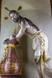 Senor de la Columna Jesus Sanctuary de Jesus Atotonilco Mexico Fotos de archivo