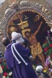 Senor de los Milagros à Gênes image libre de droits
