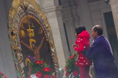 Senor de los Milagros à Gênes image stock
