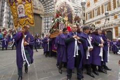 Senor de Los Milagros in Genua Stockfoto