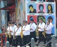 Senor de los Milagros Procession del EL Foto de archivo libre de regalías
