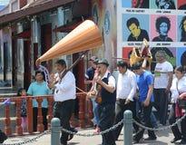 Senor de los Milagros Procession del EL Fotos de archivo