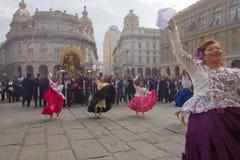 Senor De Los Milagros w genui Zdjęcia Royalty Free