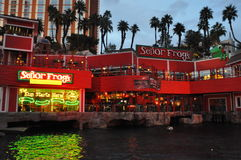 Senor Frogs Restaurant in Las Vegas, Nevada Stock Images