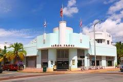 Senor Frogs Restaurant in Miami Beach Stock Photo