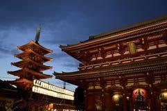 Sensō-sensō-ji ναός Asakusa Ιαπωνία Στοκ φωτογραφία με δικαίωμα ελεύθερης χρήσης