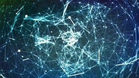 Sens abstrait de conception graphique de la Science Sens abstrait de conception graphique de la Science Sphère abstraite de vecte illustration de vecteur