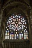 Sens - cathédrale Photo libre de droits