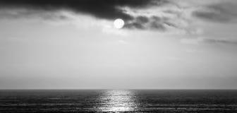 Sensação da brisa do oceano imagem de stock
