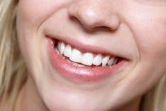 Sensação do sorriso Fotografia de Stock Royalty Free
