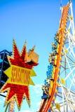 Sensações na feira de divertimento Imagem de Stock
