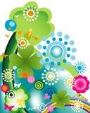 Sensación de la primavera stock de ilustración