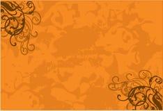 Sensación marrón brillante stock de ilustración