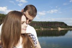 Sensaciones románticas Imagen de archivo