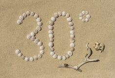 Sensation bonne - 30° Photos libres de droits