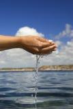 Sensation de l'eau Image libre de droits