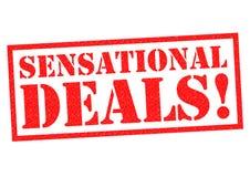SENSATIONAL DEALS! Stock Photography