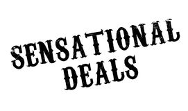 Sensational Deals rubber stamp Royalty Free Stock Photo