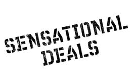 Sensational Deals rubber stamp Royalty Free Stock Images
