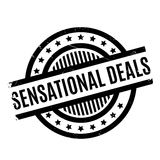 Sensational Deals rubber stamp Stock Photography