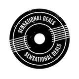 Sensational Deals rubber stamp Royalty Free Stock Image