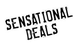 Sensational Deals rubber stamp Stock Photo