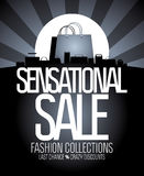Sensational sale design. Royalty Free Stock Photography