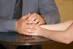 Sensations d'amour et moments de mariage Images stock