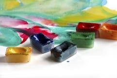 Sensations de peinture Images stock
