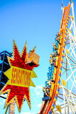 Sensations at Fun Fair Stock Image